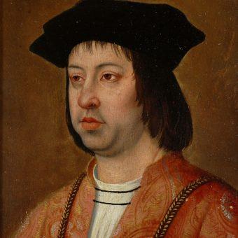 Portret Ferdynanda V Katolickiego.