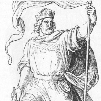 Wizerunek Arnulfa.