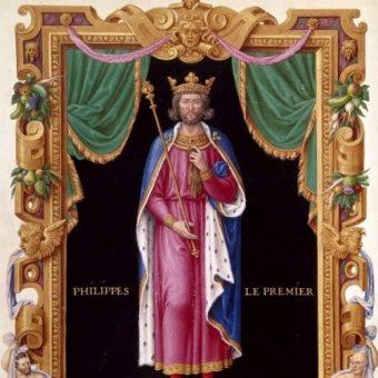 Król Francji Filip I.