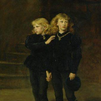Edward V i jego brat Ryszard w Tower.