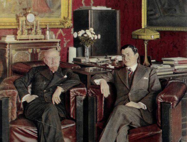 Reorganizacja rządu w 1932 roku spotkała się z silnym sprzeciwem między innymi Bronisława Pierackiego (siedzi po prawej).