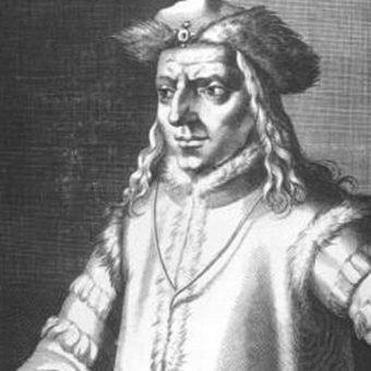 Henryk Karyncki przejął władzę w Czechach po śmierci Rudolfa Habsburga (na ilustracji).