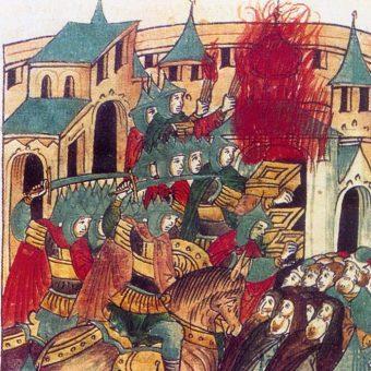 Atak wojsk Batu na Suzdal.