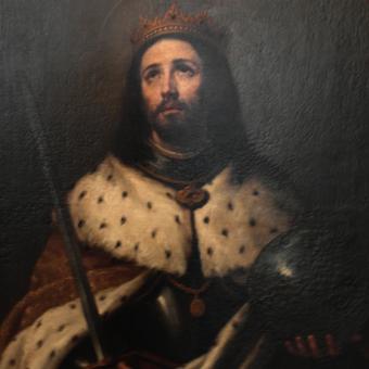 Portret Ferdynanda III Świętego.