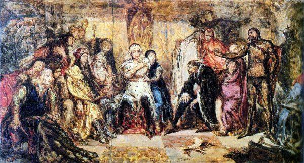 W wyniku zamachu, którego zleceniodawcy do dzisiaj nie znamy, na sejmie w Gąsawie w 1227 roku zginał Leszek Biały.