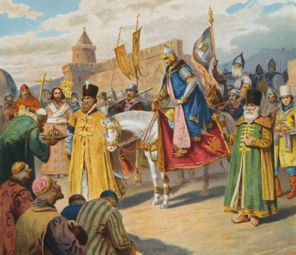Iwan IV opierał swoje pretensje do tytułu cara między innymi na fakcie zdobycia Kazania.