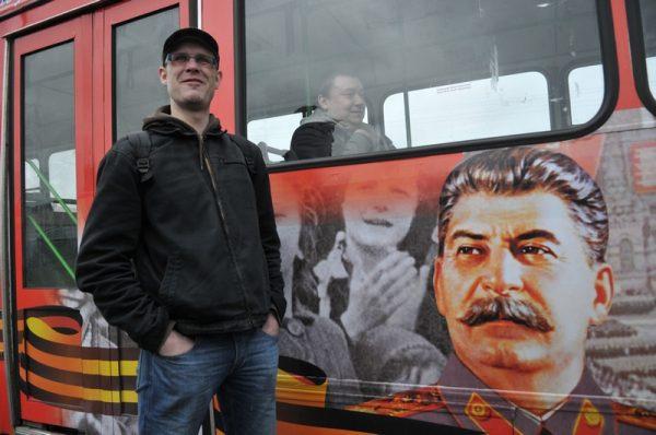 We współczesnej Rosji nie brakuje nostalgii za Stalinem. Zdjęcie z Petersburga (2010 rok).