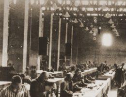 Z pracy robotników przymusowych korzystało podczas II wojny światowej wiele firm, m.in. Siemens (na zdj.).