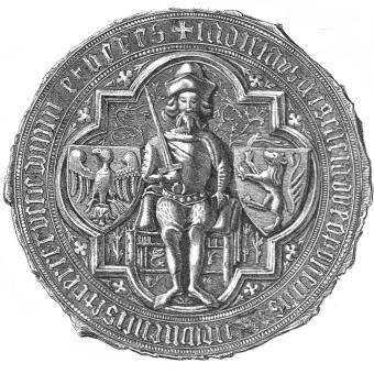 Pieczęć Władysława Opolczyka.