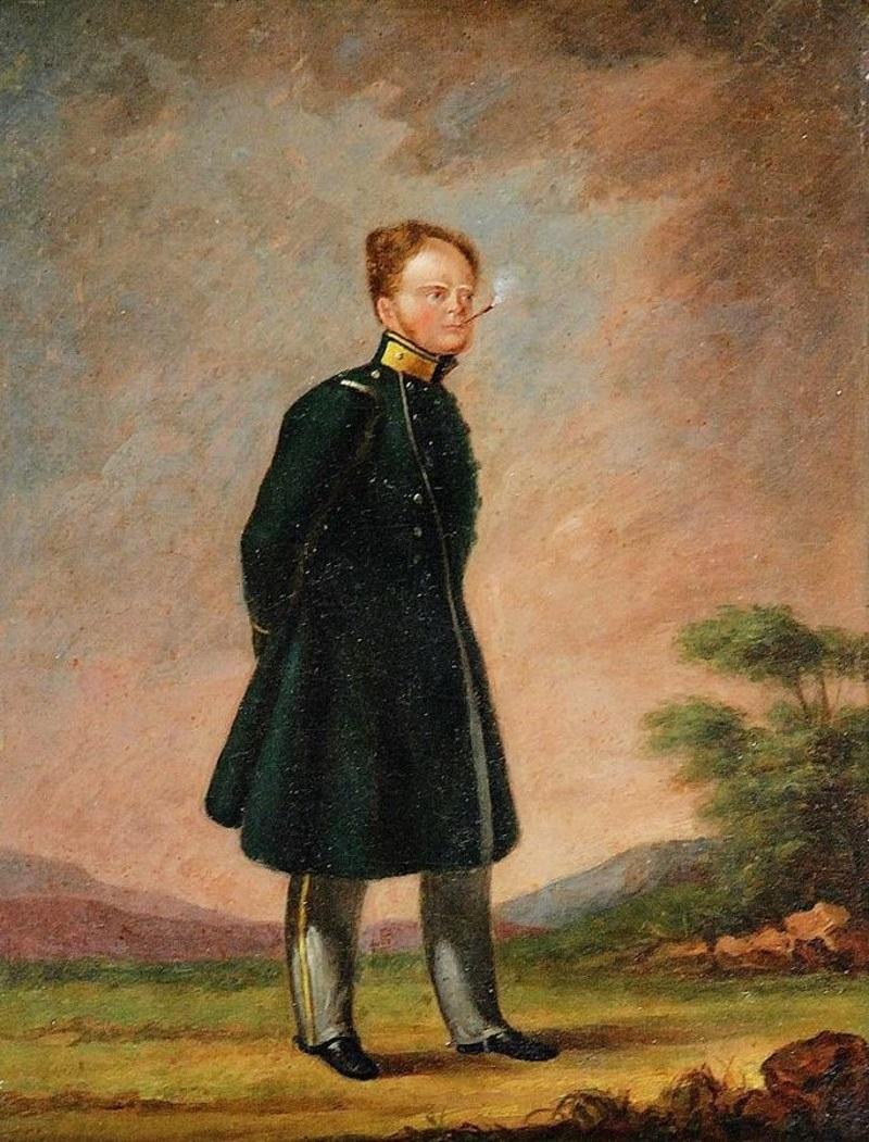 Wielki książę Konstanty Pawłowicz na obrazie Józefa Ignacego Łukaszewicza (fot. domena publiczna)