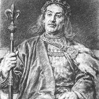 Portret Władysława Laskonogiego.