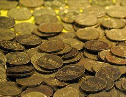 Złote monety (fot. domena publiczna)