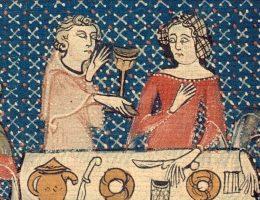 Co podawano na kolację w średniowiecznych mieszczańskich domach?