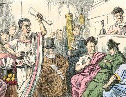 Wygląda na to, że w starożytnym Rzymie polityką interesowali się... tylko politycy.
