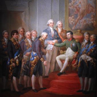 Księstwo Warszawskie miało konstytucję nadaną przez Napoleona.