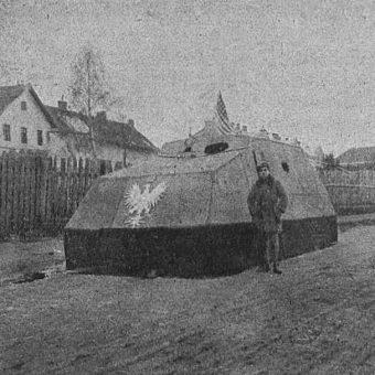 Polską tajną bronią miał być pojazd pancerny.