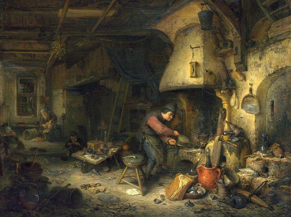 Alchemicy uważali się za rycerzy Dobra, zgłebiających tajniki działania materii.