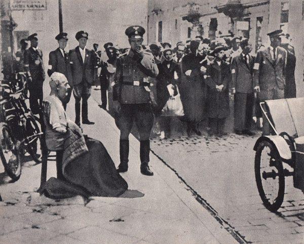 Wysiedlenie Żydów z getta było prowadzone w sposób wyjątkowo brutalny.