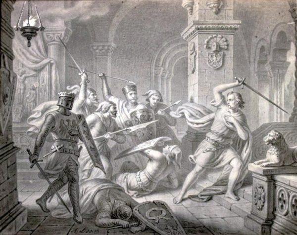 Po tym, jak Przemysł II zginął po uprowadzeniu w Rogoźnie, dla Wacława II ponownie otworzyła się droga do polskiego tronu.