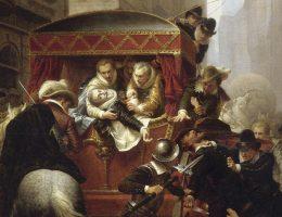 W 1610 roku w zamachu zginął francuski król Henryk IV (na il.). Trzeba jednak było próby zabójstwa na Zygmuncie III Wazie, by w Polsce zwrócono uwagę na kwestię bezpieczeństwa władcy.