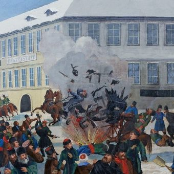 Hryniewiecki przeszedł do historii dzięki temu, że zamordował cara Aleksandra II w samobójczym zamachu bombowym.