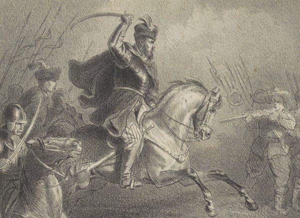 Czarniecki nigdy nie uchylał się od walki w pierwszej linii.