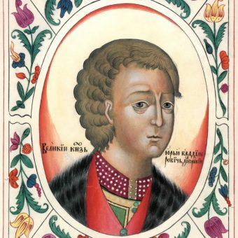 Wizerunek Jerzego Dołgorukiego.