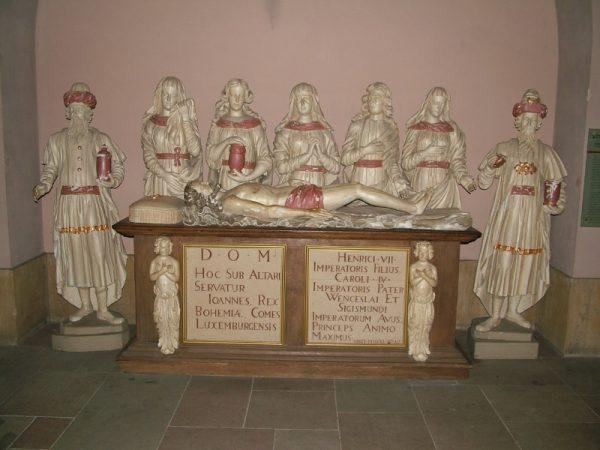 Grobowiec Jana Luksemburskiego (fot. Krischnig, lic. domena publiczna)