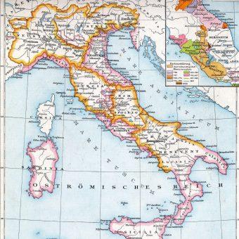 Włochy pod panowaniem Longobardów.