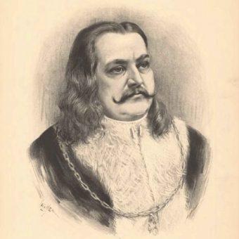 Portret Jerzego z Podiebradów.