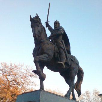 Pomnik Kałojana w Warnie.