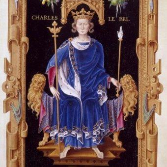 Karol IV Piękny (fot. domena publiczna)
