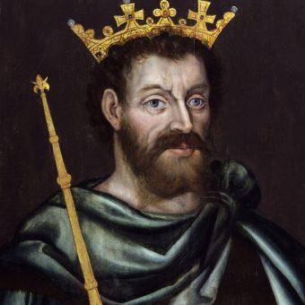 Król Jan bez Ziemi.