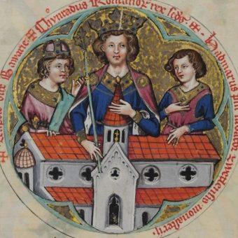 Wizerunek Konrada II.