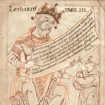 Wizerunek Lotara III.