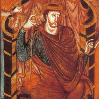 Wizerunek cesarza Lotara I.