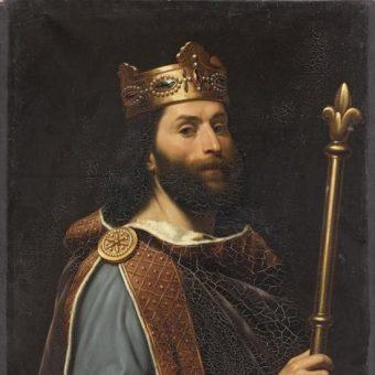 Ludwik II Jąkała (fot. domena publiczna)