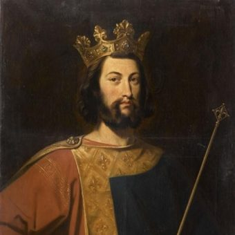 Ludwik VII (fot. domena publiczna)