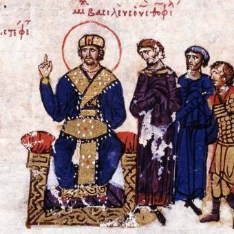 Cesarz Michał III ogłasza Bazylego współcesarzem.