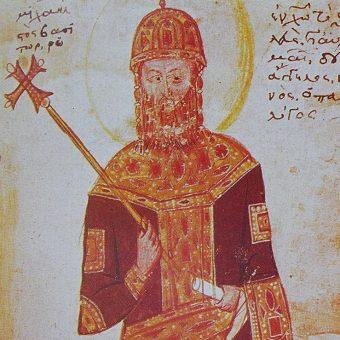 Wizerunek Michała VIII Paleologa.