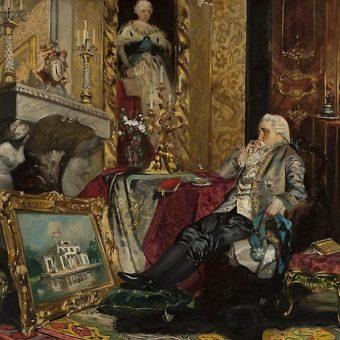 Stanisław August Poniatowski od początku swoich rządów był w ekstremalnie trudnej sytuacji.
