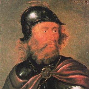 Portret Roberta I Bruce'a.