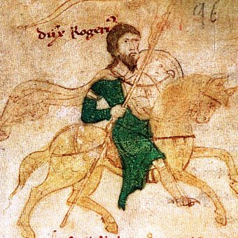 Wizerunek Rogera II.