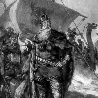 Niektórzy historycy utożsamiają Ruryka z duńskim wodzem Rorikiem.