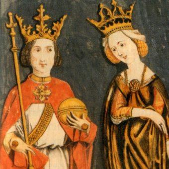 Miniatura z wizerunkiem Ruprechta.