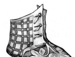 Rekonstrukcja bucika - tak mógł wyglądać w XIV wieku.