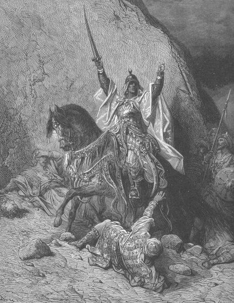 Mimo wielu sukcesów Saladyn nie lekceważył krzyżowców.