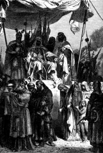 Saladin and Christians of Jerusalem