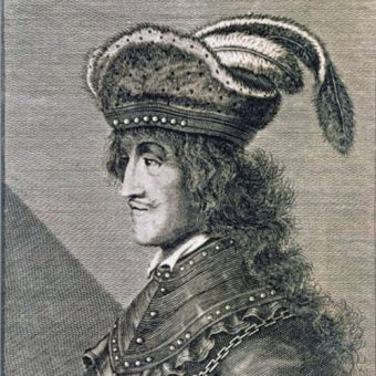Portret Skanderbega z XVII wieku.