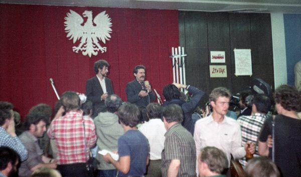 """W latach 1980-1981 Miodowicz należał do """"Solidarności"""". Później jednak został jej zawziętym wrogiem."""